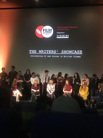 BFI Screenwriters showcase