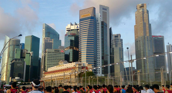 Work in Singapore's CBD