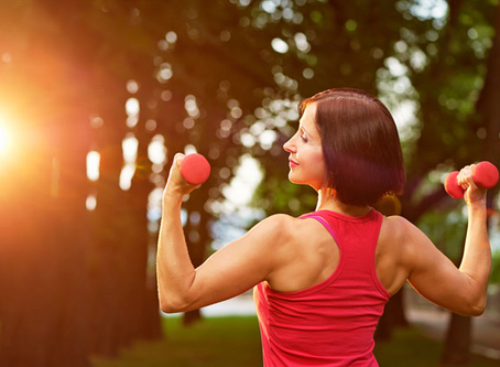 Strength & weight training have huge benefits for women as they getolder.