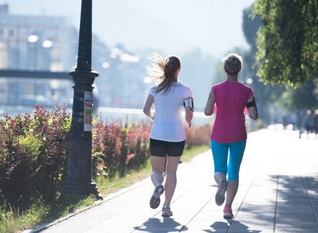 In praise of exercising with friends