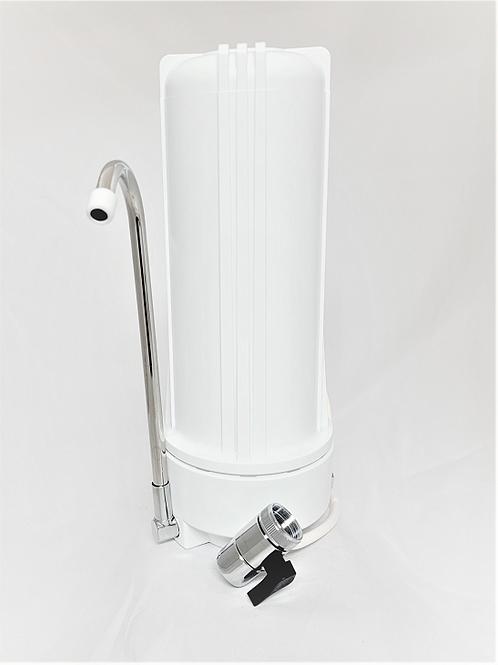 Filtro Purificador de Agua Blanco | White Case Countertop Water Purifier