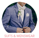 Suits and Menswear Category Select