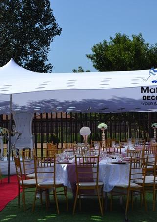 Mafereka Events - Wedding Decor