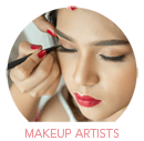 Makeup Artists Category Select