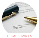 Legal Services Category Select