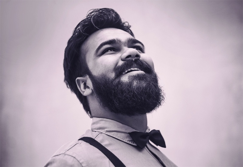 Beard care products as wedding gifts for the bearded and clean shaven groom and groomsmen