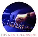 DJ's and Entertainment Category Select