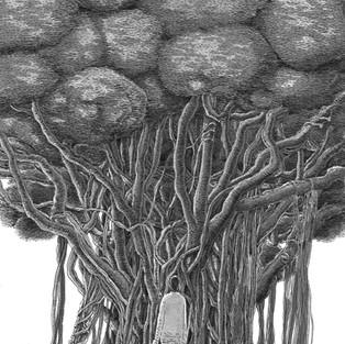 あさのあつこ著「神無島のウラ」第3話扉絵