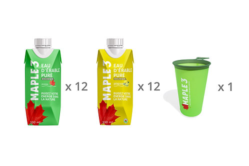 Maple Water - Mixt Box & Cup - 24 x 330 ML