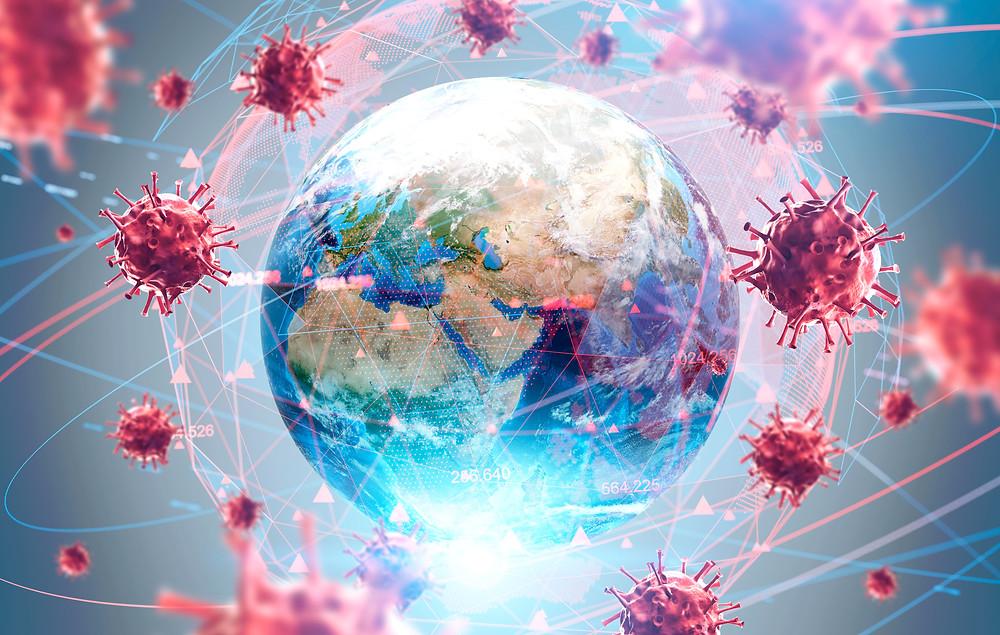 Koronavírusok a Föld körül