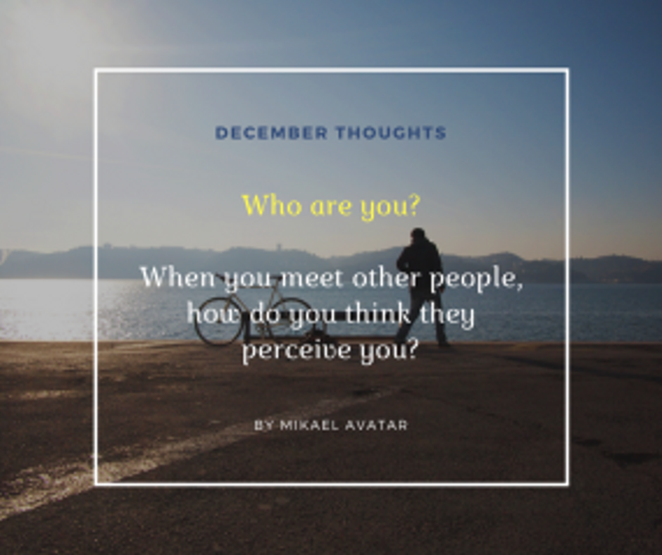 Who are you_When you meet other people, how do you think they perceive you_