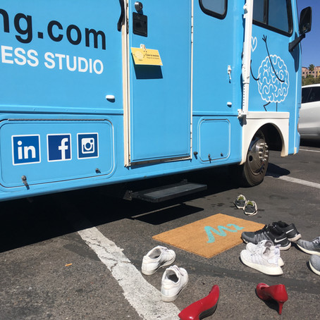 ASU Students De-stress with Mobile Mindfulness Truck