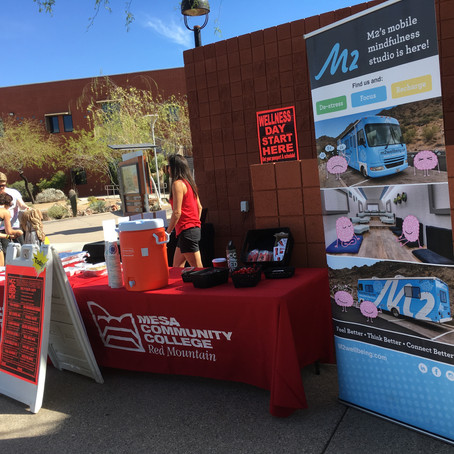 Mesa Community College Wellness Day