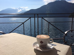 Coffee by the Lake!