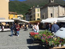 Busy Market in Lenno