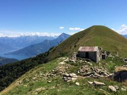 Walking on Monte Crocione