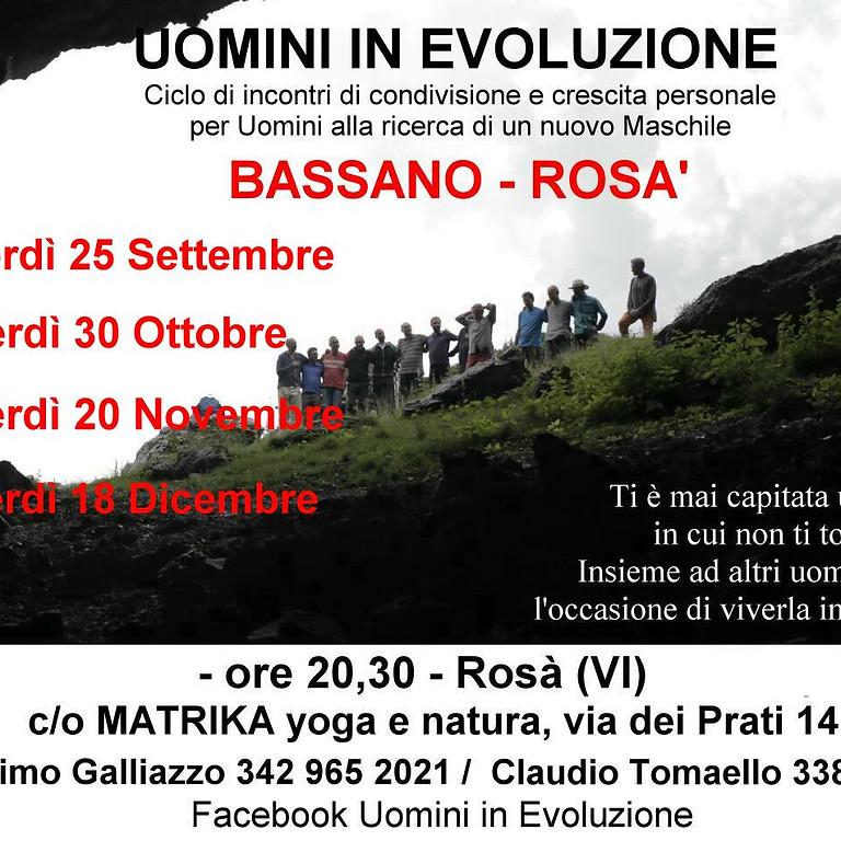 UOMINI IN EVOLUZIONE Rosà-Bassano del Grappa  Autunno 2020 (1)