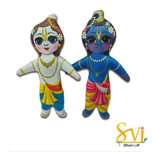 Krishna Balram Doll Deities