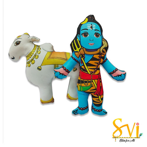 Lord Shiva Nandi Doll Deities