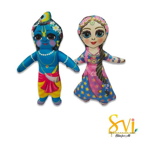 Radha Krishna Doll Deities