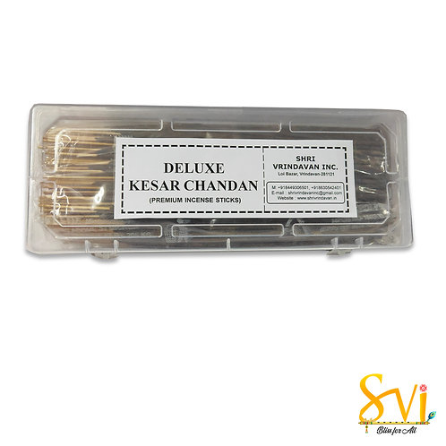 Deluxe Kesar Chandan (Premium Incense Sticks)