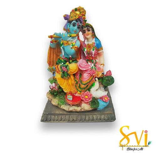 Radha Krishna Fibre Deity
