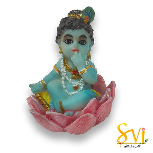 Gopal on Lotus Fibre Deity