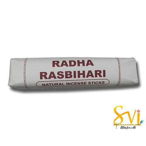 Radha Rasbihari (Natural Incense Sticks) Net Weight 250 gms.