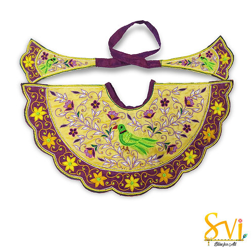 Lord Jagannath Outfit (Yellow & Purple)