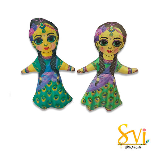 Lalita Vishakha Doll Deities