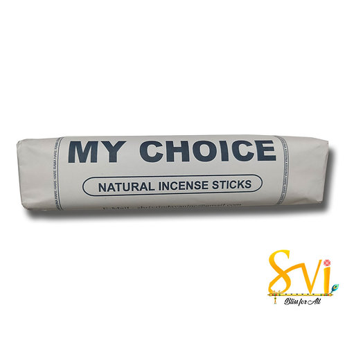 My Choice (Natural Incense Sticks) Net Weight 250 gms.
