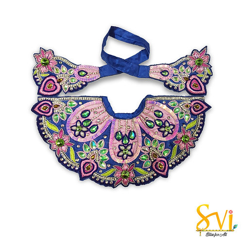 Lord Jagannath Outfit (Royal Blue & Pink)