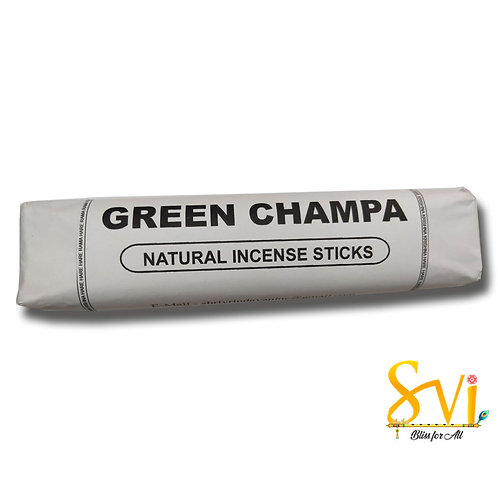 Green Champa (Natural Incense Sticks) Net Weight 250 gms.