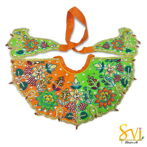 Lord Jagannath Outfit (Orange & Green)
