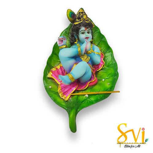 Baby Krishna Fibre Deity