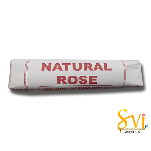 Natural Rose (Natural Incense Sticks) Net Weight 250 gms.