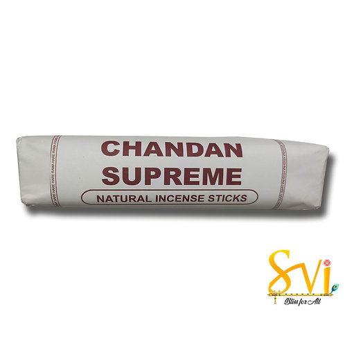 Chandan Supreme (Natural Incense Sticks) Net Weight 250 gms.