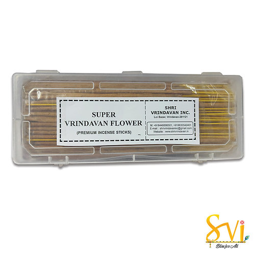 Super Vrindavan Flower (Premium Incense Sticks)