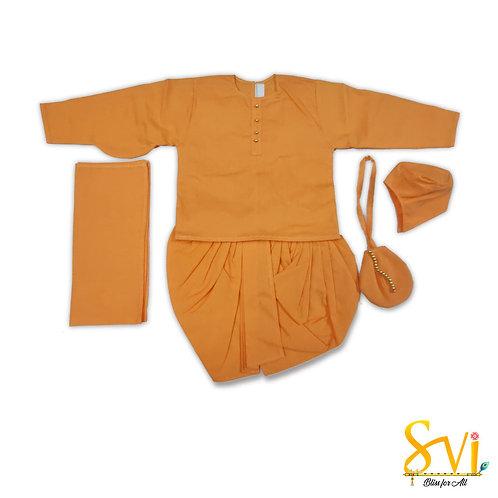 Srila Prabhupad Outfit (For 12 Inch Brass Deity)