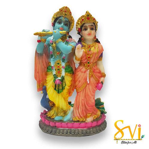 Radha Krishna Fibre Deities