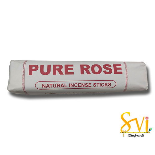 Pure Rose (Natural Incense Sticks) Net Weight 250 gms.