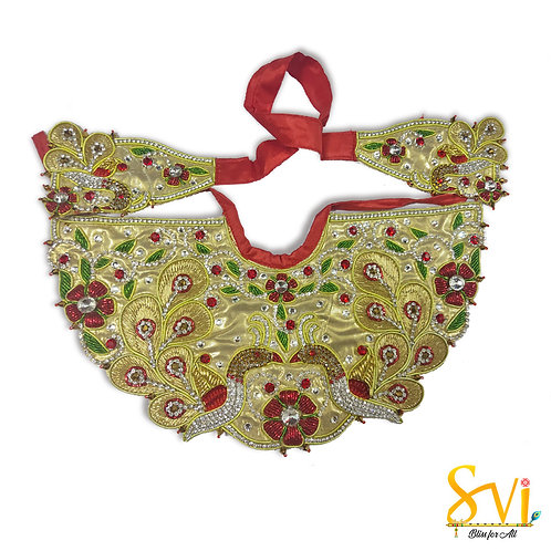 Lord Jagannath Outfit (Red & Gold)