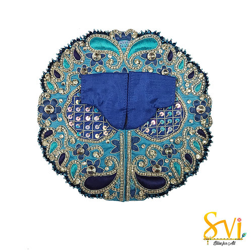Laddoo Gopal Outfit (Turquoise with Blue)