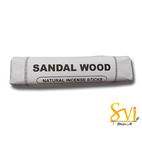Sandal Wood (Natural Incense Sticks) Net Weight 250 gms.