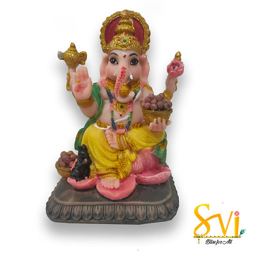 Ganesh Fibre Deity