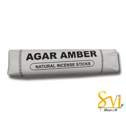 Agar Amber (Natural Incense Sticks) Net Weight 250 gms.