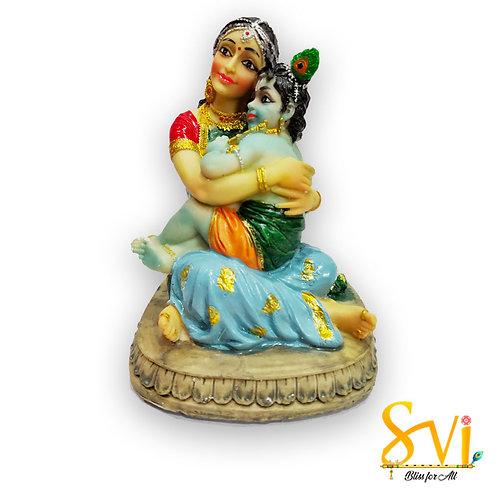 Krishna with Yashoda Maa