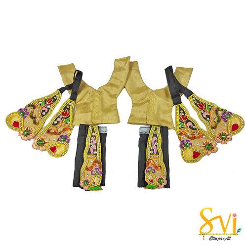 Gaura Nitai Outfit (Black & Gold)