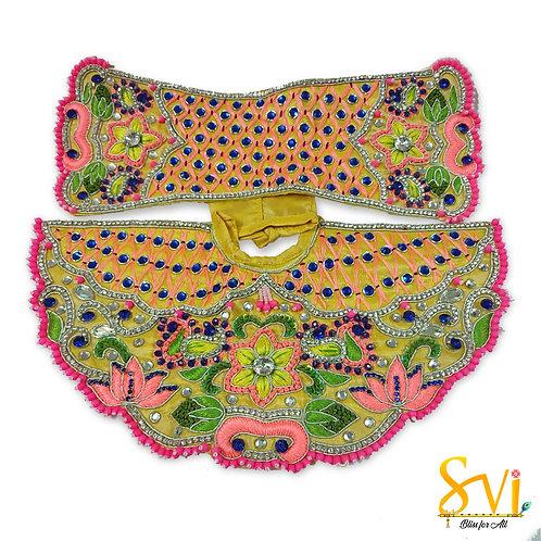 Radha Krishna Outfit (Yellow & Pink)