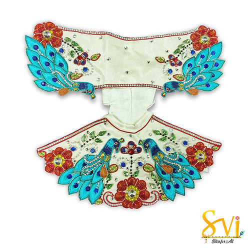 Radha Krishna Outfit (Flying Peacocks)